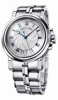 Breguet Marine Automatic Big Date Mens Wristwatch 5817ST.12.SV0