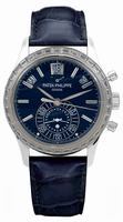 Patek Philippe Calendar Mens Wristwatch 5961P-001
