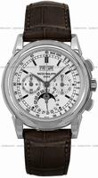Patek Philippe Chronograph Perpetual Calendar Mens Wristwatch 5970G