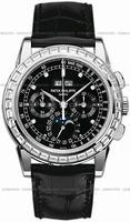 Patek Philippe Chronograph Perpetual Calendar Mens Wristwatch 5971P