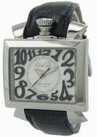 GaGa Milano Napoleone Steel Men Wristwatch 6000.5.BK