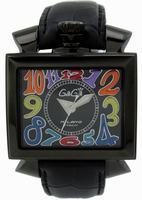GaGa Milano Napoleone PVD Men Wristwatch 6002.1.BK