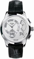 Glashutte PanoGraph Mens Wristwatch 61-01-02-02-04