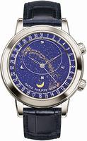 Patek Philippe Celestial Mens Wristwatch 6102P-001