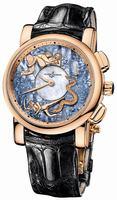 Ulysse Nardin Hourstriker Erotica 42mm Mens Wristwatch 6116-103/P0-P2
