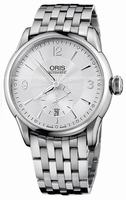 Oris Artelier Small Second Date Mens Wristwatch 623.7582.4071.MB
