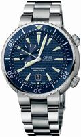 Oris Divers Small Second Date Mens Wristwatch 643.7609.85.55.MB