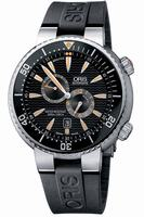 Oris Der Meistertaucher Divers Regulator Mens Wristwatch 649.7610.71.64.Set
