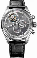 Zenith El Primero Tourbillon Chronograph Mens Wristwatch 65.2050.4035-91.C630