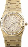 Audemars Piguet Royal Oak Ladies Quartz 33mm Wristwatch 66344BA.ZZ.0722BA.01