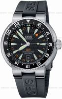 Oris Divers GMT Date Mens Wristwatch 668.7639.84.54.RS