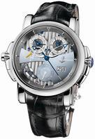 Ulysse Nardin Sonata Silicium Mens Wristwatch 670-85