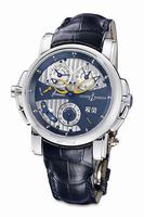 Ulysse Nardin Sonata Cathedral Dual Time Mens Wristwatch 670-88-213