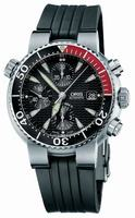Oris Diver Chronograph Mens Wristwatch 674.7542.71.54.RS