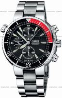 Oris Diver Chronograph Mens Wristwatch 674.7599.71.54.MB