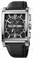 Oris Rectangular Titan Chronograph Mens Wristwatch 674.7625.7064.LS