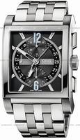 Oris Rectangular Titan Chronograph Mens Wristwatch 674.7625.7064.MB