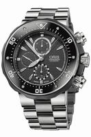 Oris PRO DIVER Mens Wristwatch 674.7630.71.54.MB