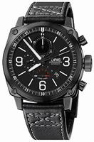 Oris BC4 Chronograph Mens Wristwatch 674.7633.47.94.LS