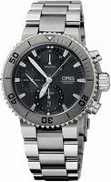 Oris Aquis Titan Chronograph Mens Wristwatch 674.7655.7253.MB