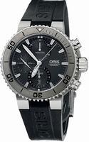 Oris Aquis Titan Chronograph Mens Wristwatch 674.7655.7253.RS