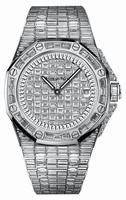 Audemars Piguet Royal Oak Offshore Quartz White Gold Ladies Wristwatch 67543BC.ZZ.9185BC.01