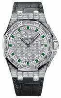 Audemars Piguet Royal Oak Offshore Quartz White Gold Ladies Wristwatch 67543BC.ZZ.D204CR.01