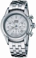 Oris Artelier Chronograph Mens Wristwatch 676.7547.40.51.MB