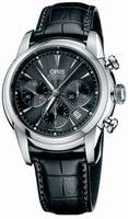 Oris Artelier Chronograph Mens Wristwatch 676.7547.40.54.LS
