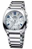 Oris Frank Sinatra Chronograph Mens Wristwatch 676.7574.40.61.MB