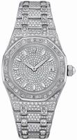 Audemars Piguet Royal Oak Lady Quartz Wristwatch 67604BC.ZZ.1211BC.01