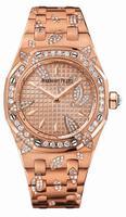 Audemars Piguet Royal Oak Ladies Quartz 33mm Wristwatch 67616OR.ZZ.1234OR.01