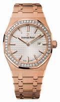 Audemars Piguet Royal Oak Ladies Quartz 33mm Wristwatch 67651OR.ZZ.1261OR.01