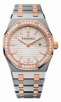 Audemars Piguet Royal Oak Quartz Stainless Steel Ladies Wristwatch 67651SR.ZZ.1261SR.01