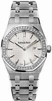 Audemars Piguet Royal Oak Quartz Ladies Wristwatch 67651ST.ZZ.1261ST.01
