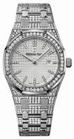 Audemars Piguet Royal Oak Quartz Ladies Wristwatch 67652BC.ZZ.1262BC.01