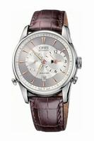 Oris Artelier Worldtimer Mens Wristwatch 690.7581.40.51.LS