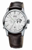 Oris Greenwich Mean Time Limited Edition Mens Wristwatch 690.7690.4081.LS2