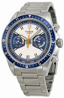 Tudor Heritage Chronograph  Mens Wristwatch 70330B-95740