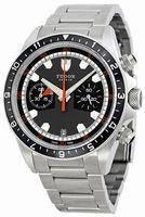 Tudor Heritage Chrono Mens Wristwatch 70330N-GYSS