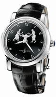 Ulysse Nardin Forgerons Minute Repeater Mens Wristwatch 719-61/E2
