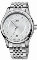 Oris Classic Date Mens Wristwatch 733.7578.40.31.MB