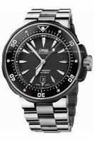 Oris PRO DIVER Date Mens Wristwatch 733.7646.7154.MB