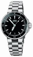 Oris Aquis Date Ladies Wristwatch 733.7652.4154.MB