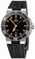 Oris Aquis Date Mens Wristwatch 733.7653.41.59.RS
