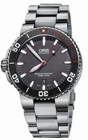 Oris Aquis Red Mens Wristwatch 733.7653.4183.MB