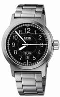 Oris BC3 Sportsman Day Date Mens Wristwatch 735.7640.4164.MB