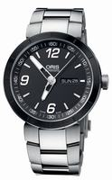 Oris TT1 Day Date Mens Wristwatch 735.7651.4174.MB