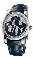 Ulysse Nardin Circus Aventurine Minute Repeater Mens Wristwatch 740-88