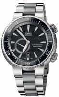Oris Divers Titan C Small Second Date Mens Wristwatch 743.7638.7454.MB
